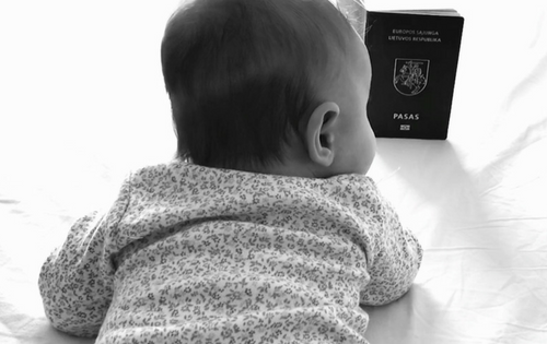 How can your child become Lithuanian (European Union) citizen?
